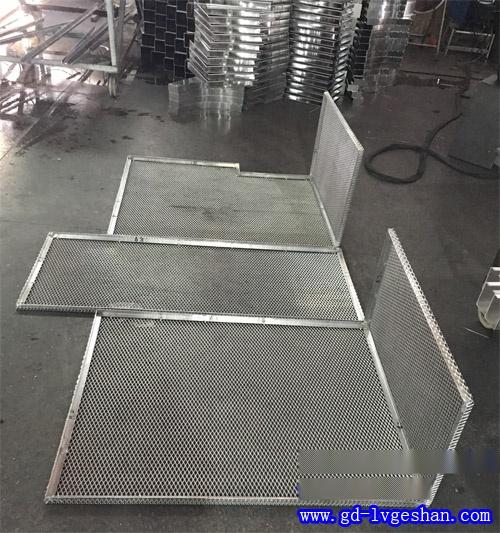 定做隔断防护铝网 铝网板吊顶 铝网板厂家