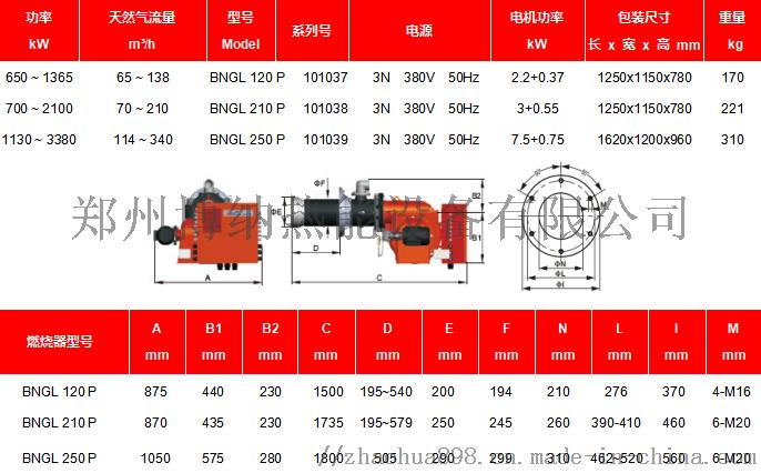BNGL120~250燃气燃油双料燃烧器.png