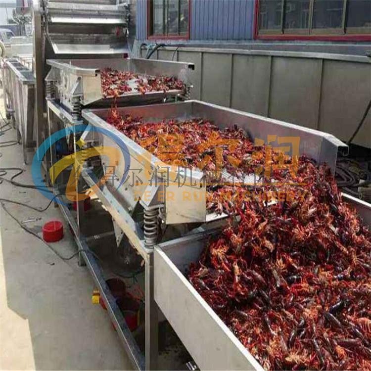 小龙虾清洗机 专业龙虾清洗设备 自动龙虾加工生产线66436602