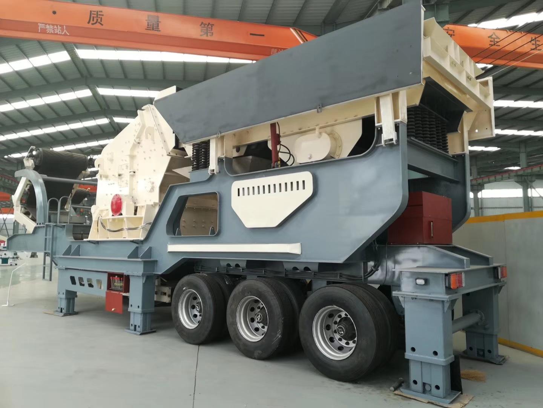 北京建筑垃圾再生利用设备 移动式青石破碎机价格800115802