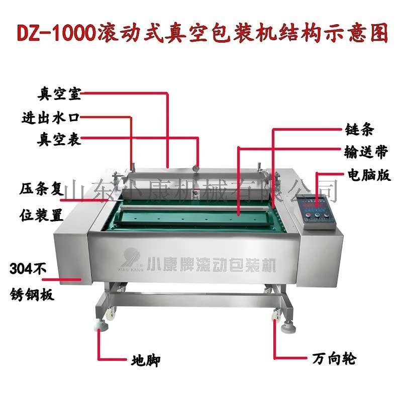 海鲜鱼电脑滚动式真空包装机 厂家直销品牌842972972