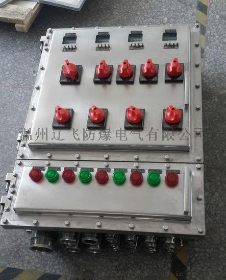 明装6回路带总开关防爆配电箱60306732