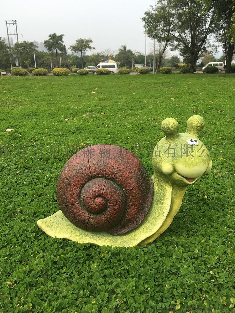 廠家直銷 模擬卡通動物烏龜和蝸牛 外貿樹脂工藝品800279665