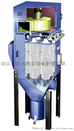 一万风量小型滤筒车间焊烟处理设备 灰尘处理设备851984202