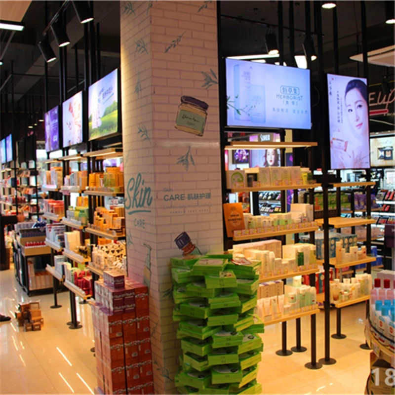 廣州化妝品店美容護膚品化妝品展示櫃展櫃櫃檯貨架741231332