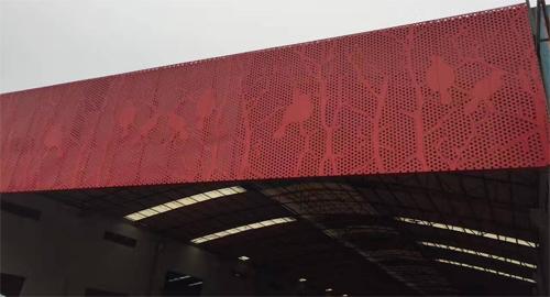 打孔铝单板门头 门头冲孔铝单板 冲孔铝单板图案.jpg
