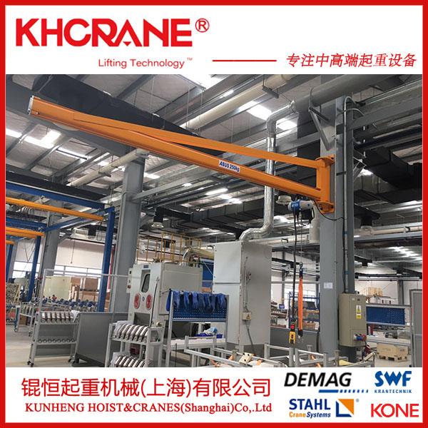 上海錕恆銷售車間專用500kg定柱懸臂吊 牆壁吊109931485