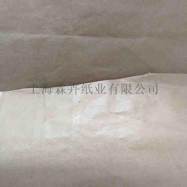 防油防潮防水牛皮纸 80克90克本色无塑硅油纸859040095