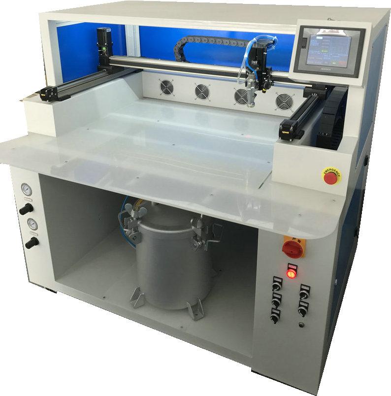 智工怀丰HF-0806PE白胶不干胶水性胶全自动喷胶机720655785