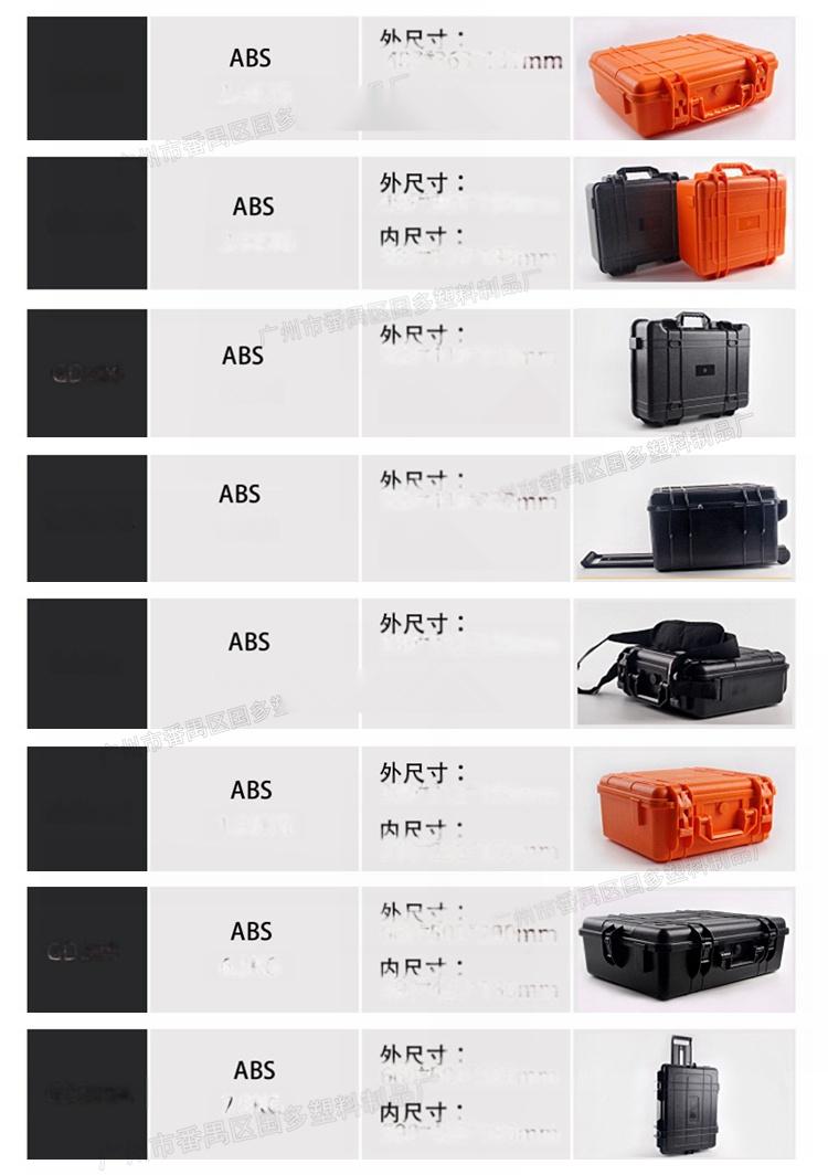 013厂家 实用车载塑料工具箱 安全防护箱60401005