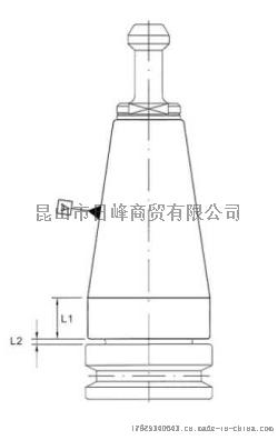 臺灣丸榮刀柄轉換套BT40轉BT30740162072