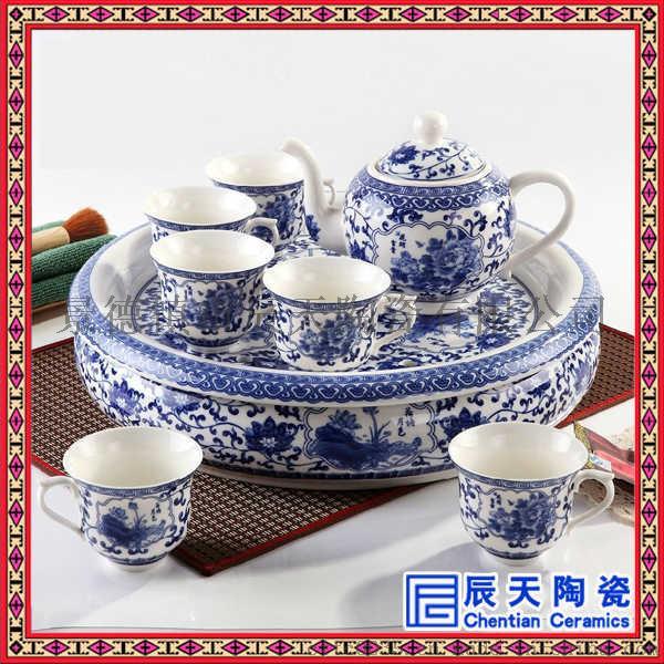 雪花釉陶瓷茶具 日式陶瓷茶具 功夫茶茶具订做60343245
