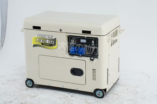 车辆用7千瓦静音柴油发电机组厂家72156442