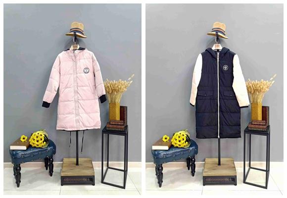 帛兰雅羽绒服女装折扣品牌服装一手货源81864005