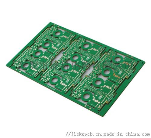 生益FR-4环氧树脂6层高密度半孔多层线路板818109405