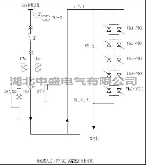 电动机高压固态软起动 干式二合一软启动柜**商家142924945