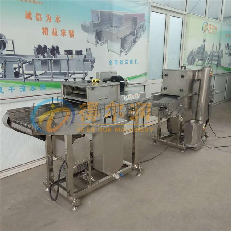 山东 鱼块上浆裹糠机首选 自动化食品上浆裹糠设备69420732