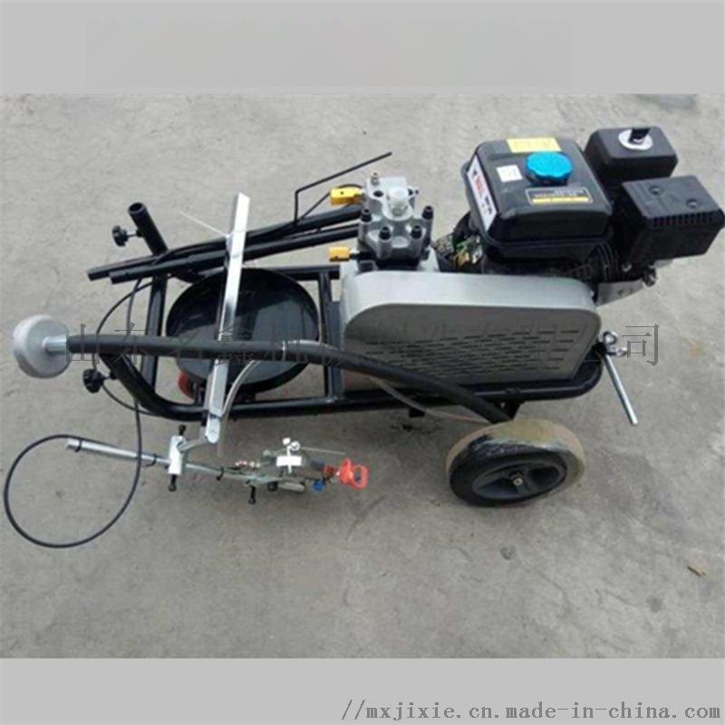 手推热熔划线机 混凝土路面划线机道路不干胶划线机833640902