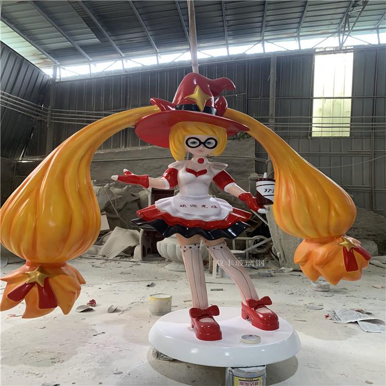 广州商业广场卡通雕塑 玻璃钢公仔卡通雕塑美陈147499535