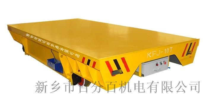 较润德35吨电动地爬车 搬运钢丝绳平板车111129822