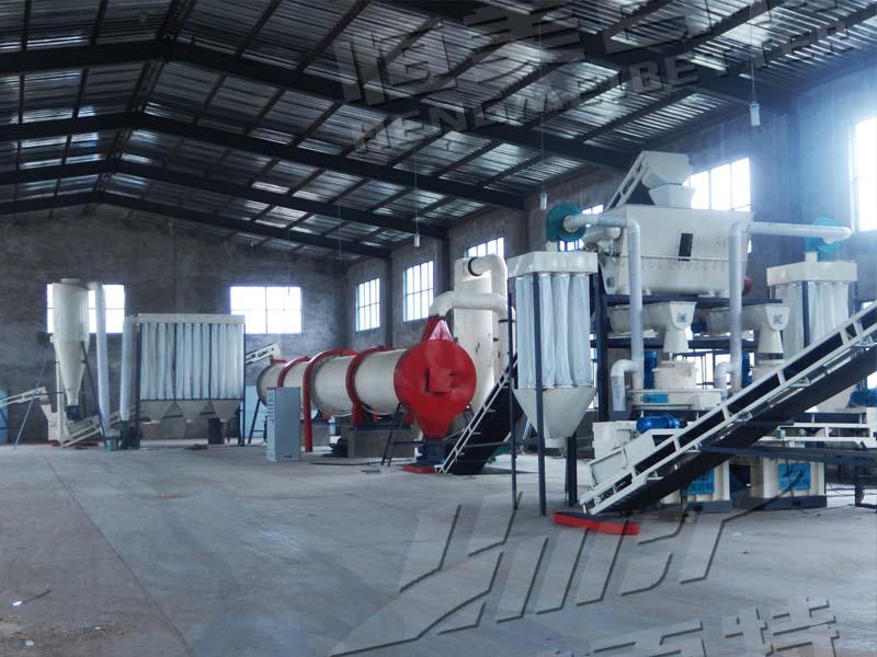 济南新能源稻壳颗粒机 木材颗粒机生产线114255712