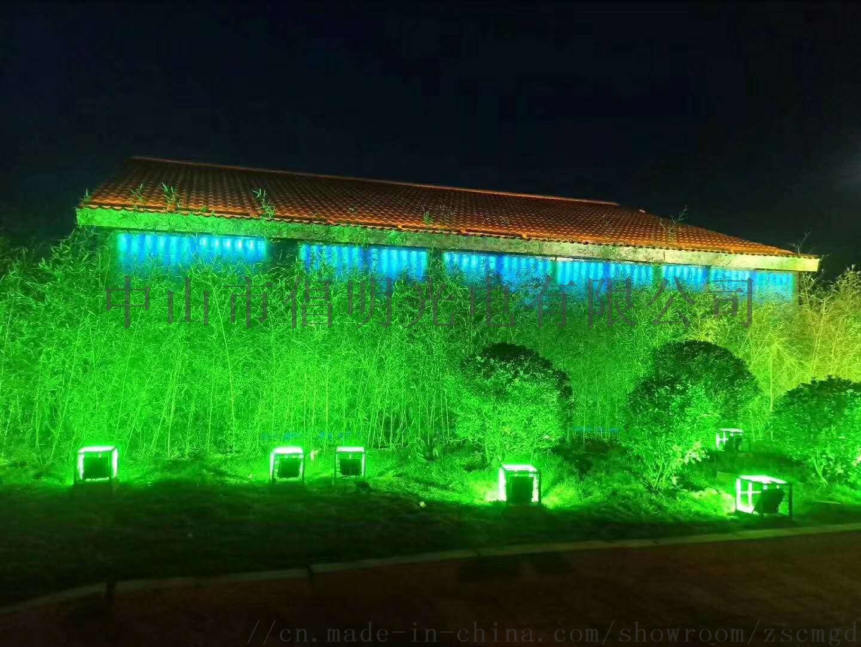 室外防水泛光灯 LED投光灯 彩色投射灯 草坪 庭院照树灯 柱子聚光灯110417055