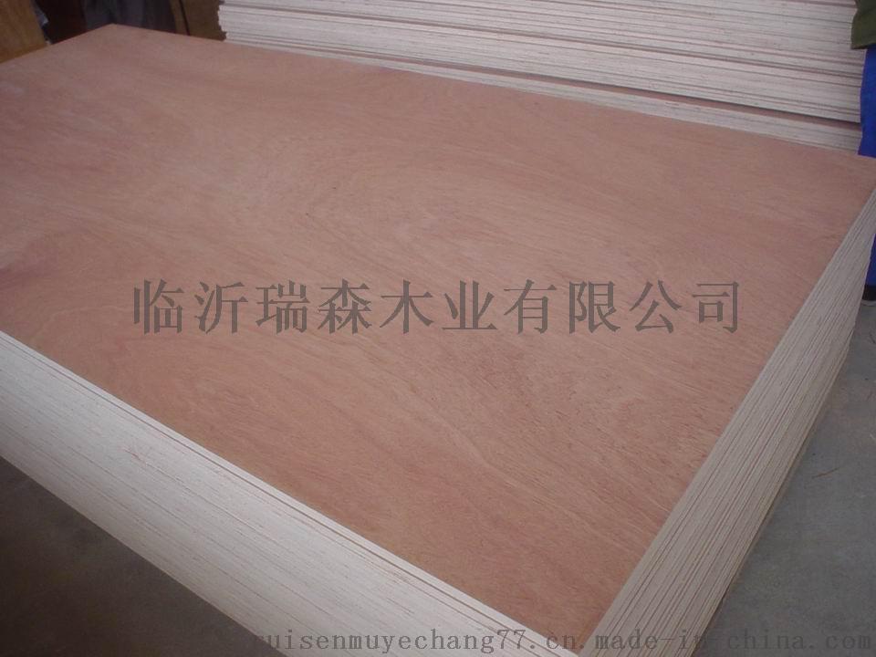 桃花芯三合板奥古曼面多层板板贴木皮用胶合板43832522