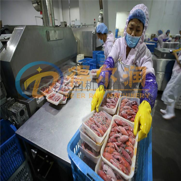 武汉 速冻虾仁生产设备 麻辣小龙虾深加工生产线62911892
