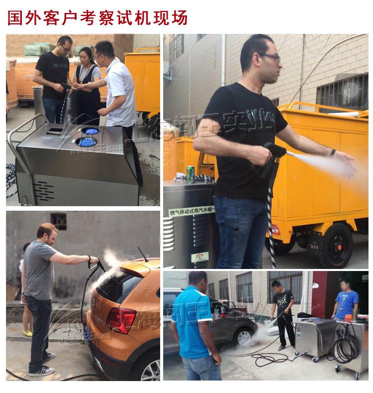上海闯王高温高压蒸汽清洗机 蒸汽洗车打蜡一体机64373145