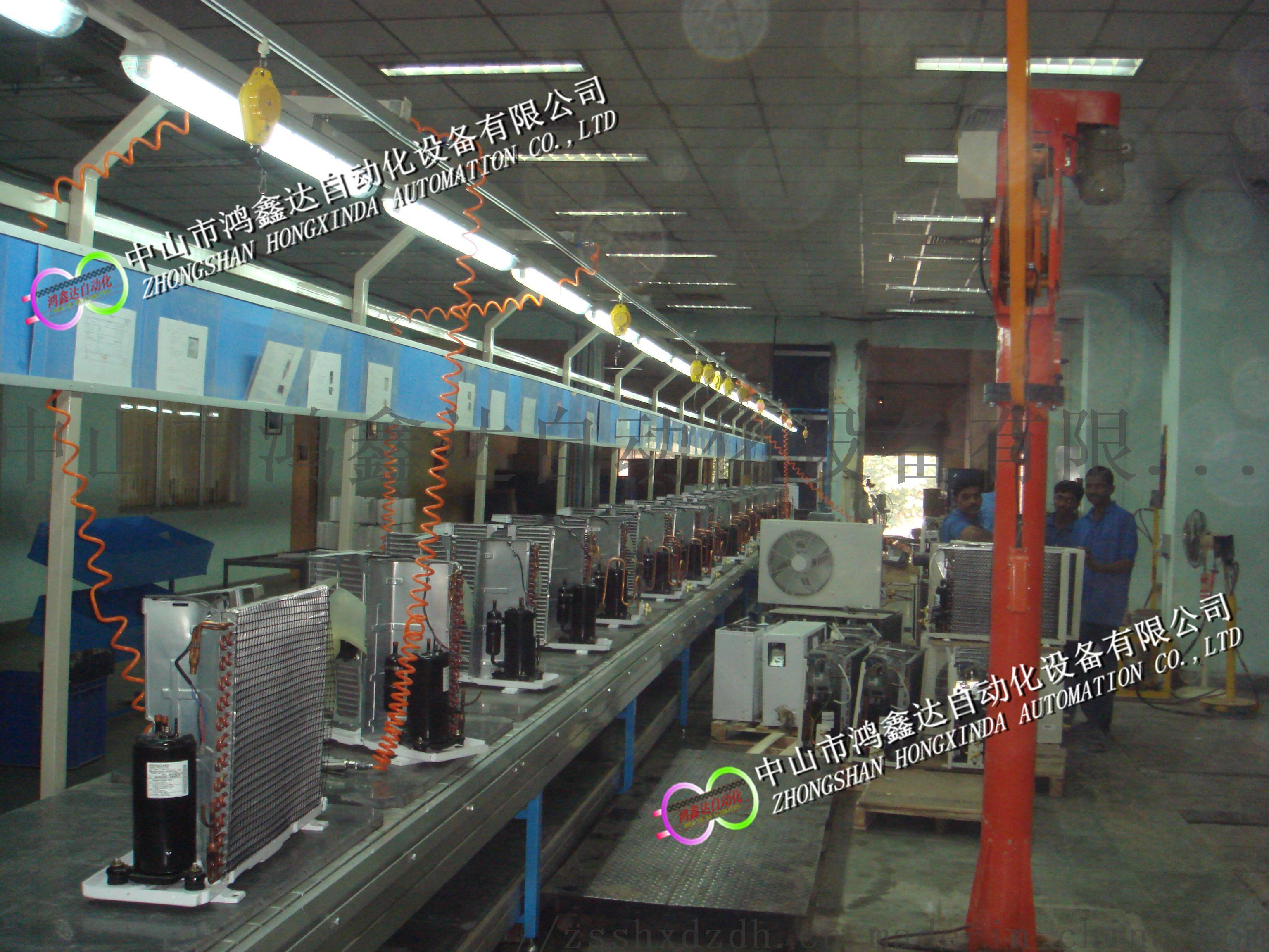 广东空调装配线,空调生产线,江西空调抽真空流水线106461445
