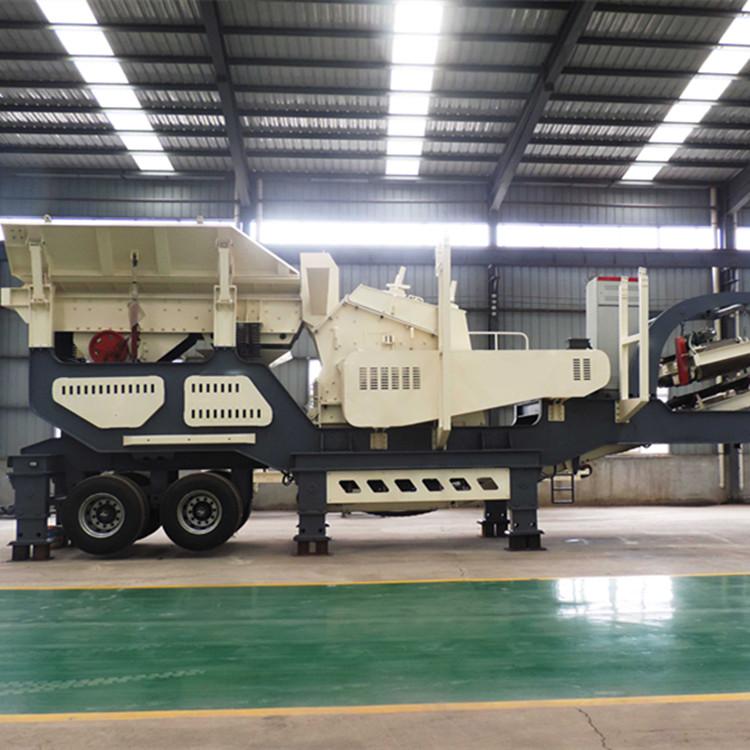 建筑垃圾破碎机移动碎石机 制砂机定做履带式破碎机厂家114159132
