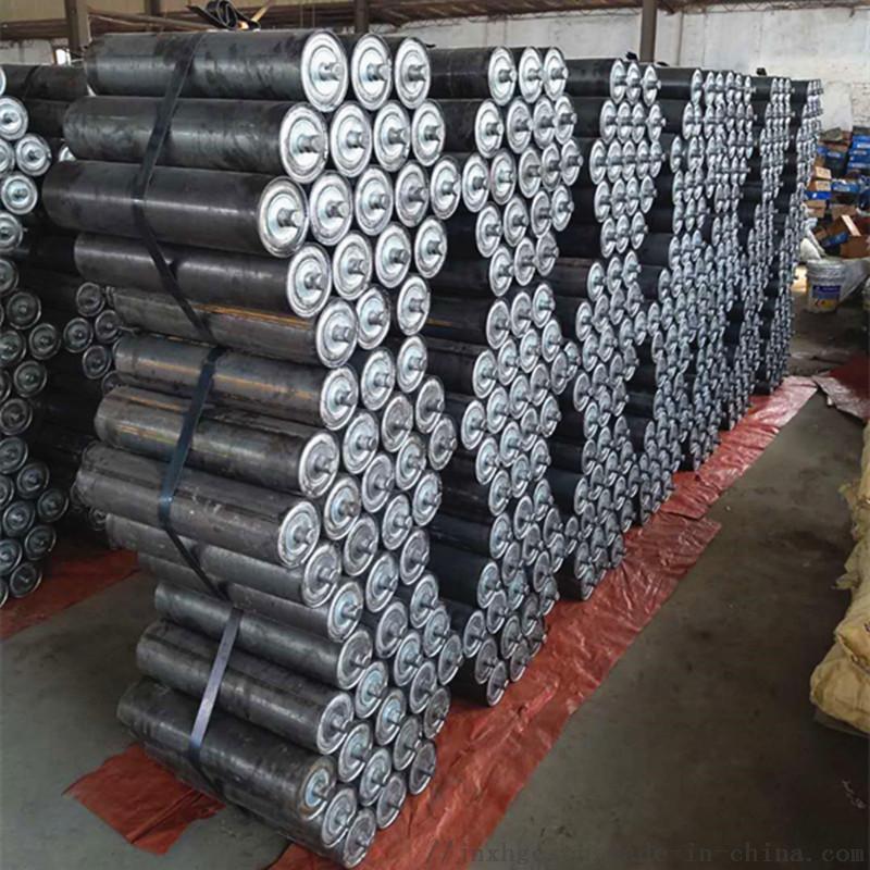 水泥厂胶带机35度上托辊 108直径35度上托辊组866942992