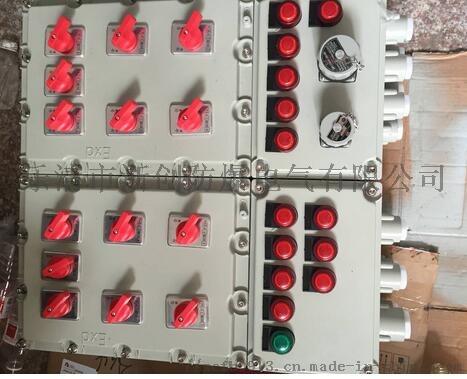 铸铝合金粉尘防爆控制箱800618015