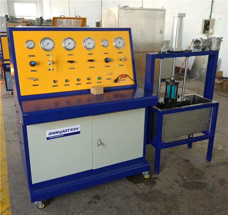 鋁管耐壓爆破試驗檯 扁平管散熱器水壓耐壓爆破測試機39940512