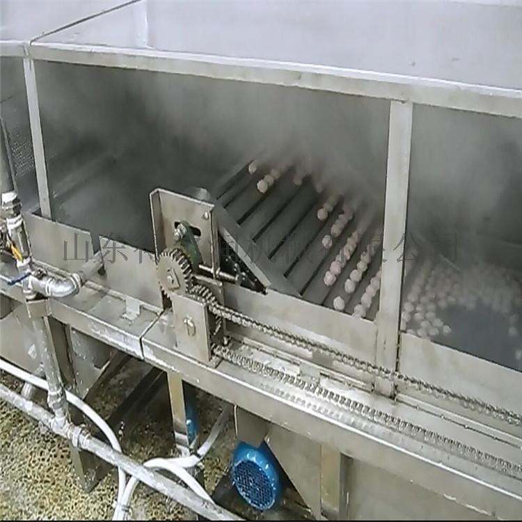 直销丸子成型机 丸子蒸煮流水线 蟹卷全自动蒸煮机803244482
