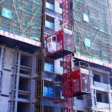 高品质建筑机械变频施工升降机105541585