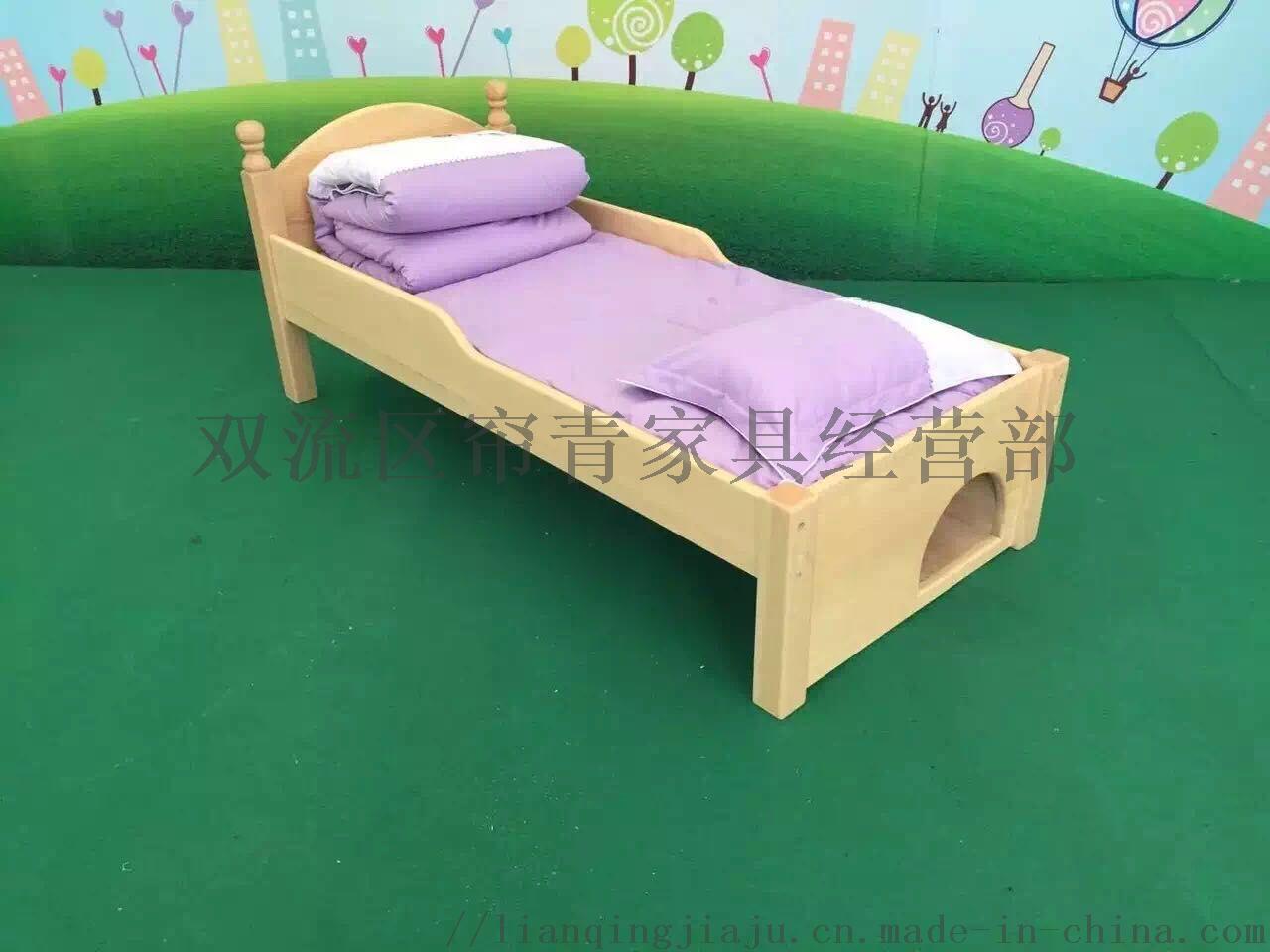 遵义幼儿园家具小床实木材质成都幼儿园家具厂家143228535