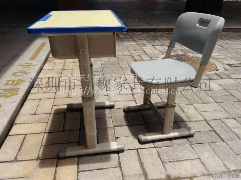 广东教育机构专用钢木课桌椅、学生课桌96102105
