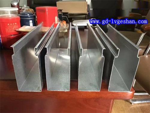 U型铝方通规格 U型铝挂片 吊顶铝方通尺寸