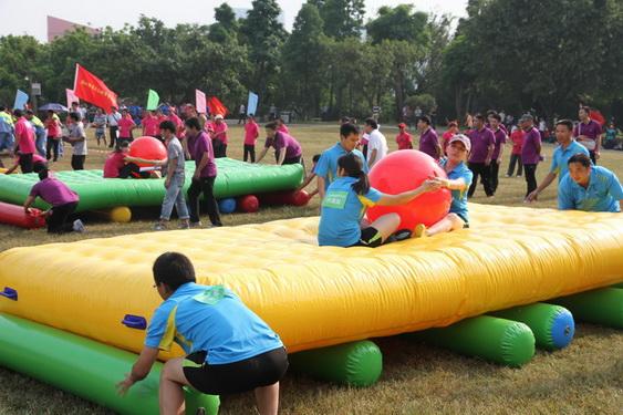 陝西西安趣味運動會道具充氣盤算好玩96478422
