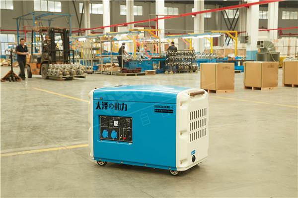应急备用静音5kw小型柴油发电机812381722