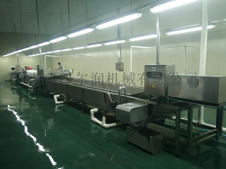 山东 净菜加工生产线 油菜清洗机 连续净菜加工设备767106092