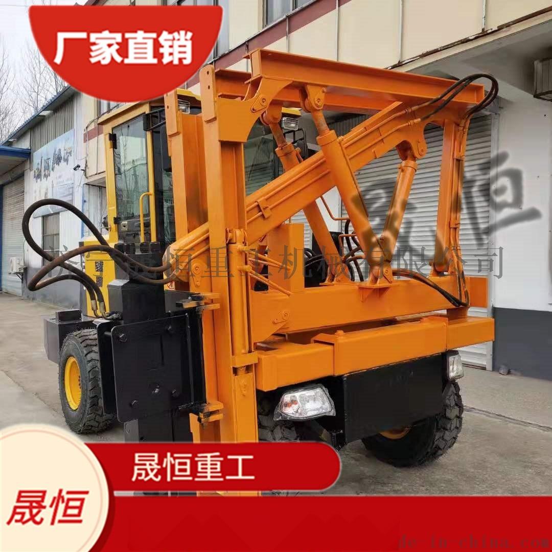 高速护栏打桩机 打拔功能 配3.5-10立方空压机898221185