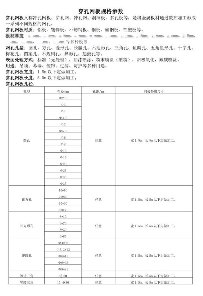 上海吊顶铝板穿孔/圆孔多孔铝板/冲孔板厂家79050465