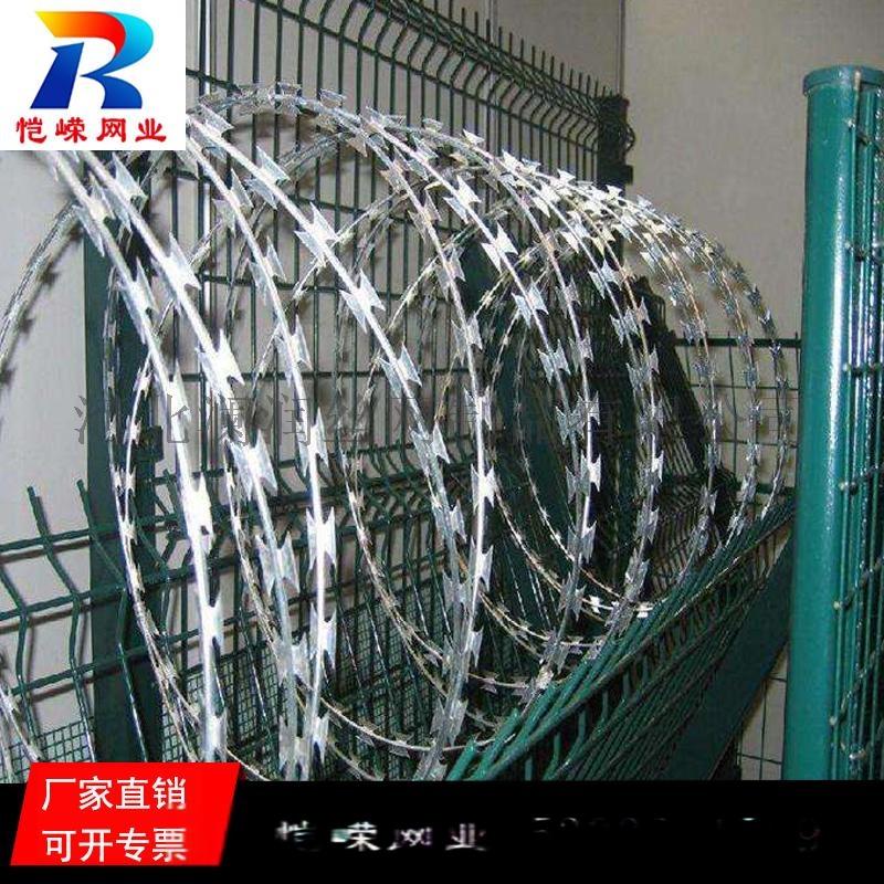 高铁铁路专用热镀锌刺丝滚笼生产厂家135340635