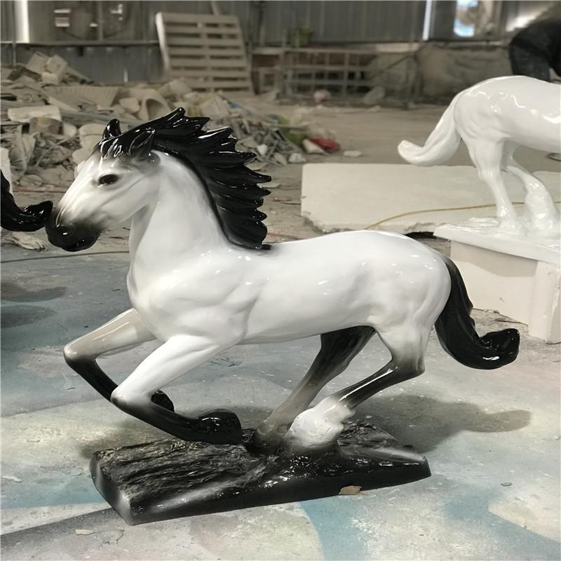梅州玻璃钢动物雕塑 文化广场骏马雕塑956118955