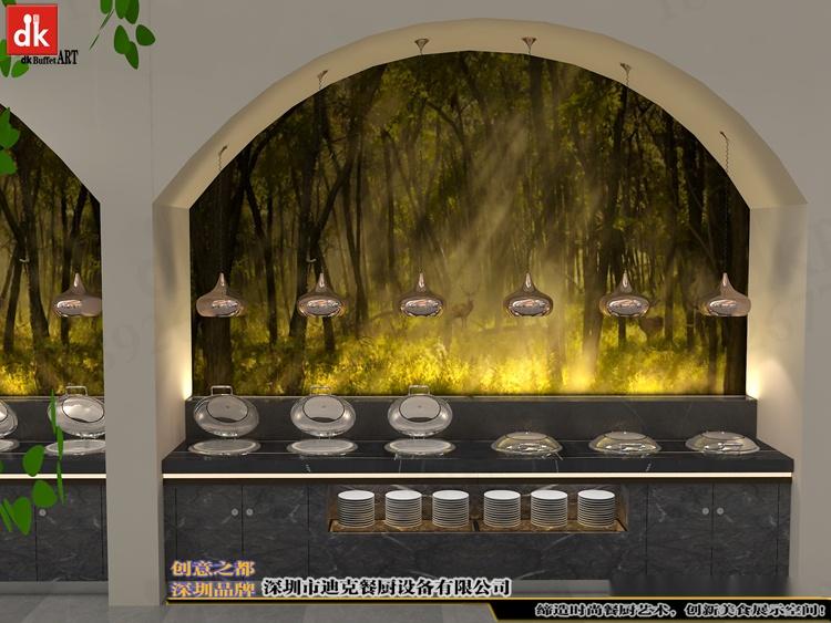 江西自助餐厅石英石自助餐台 整体餐厅餐台设计 广东专业设计酒店自助餐台 自助餐厅设计 酒店自助餐台图片布菲台 (8).jpg