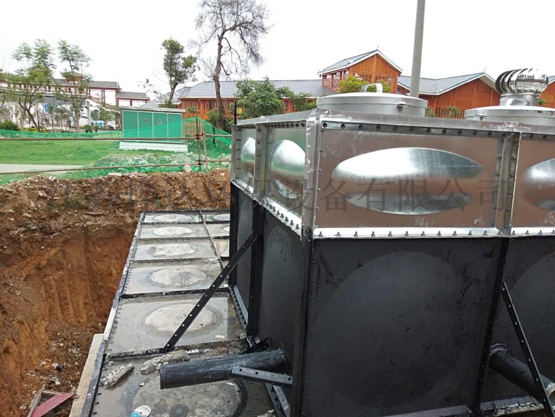箱泵一体化消防给水泵站141600435