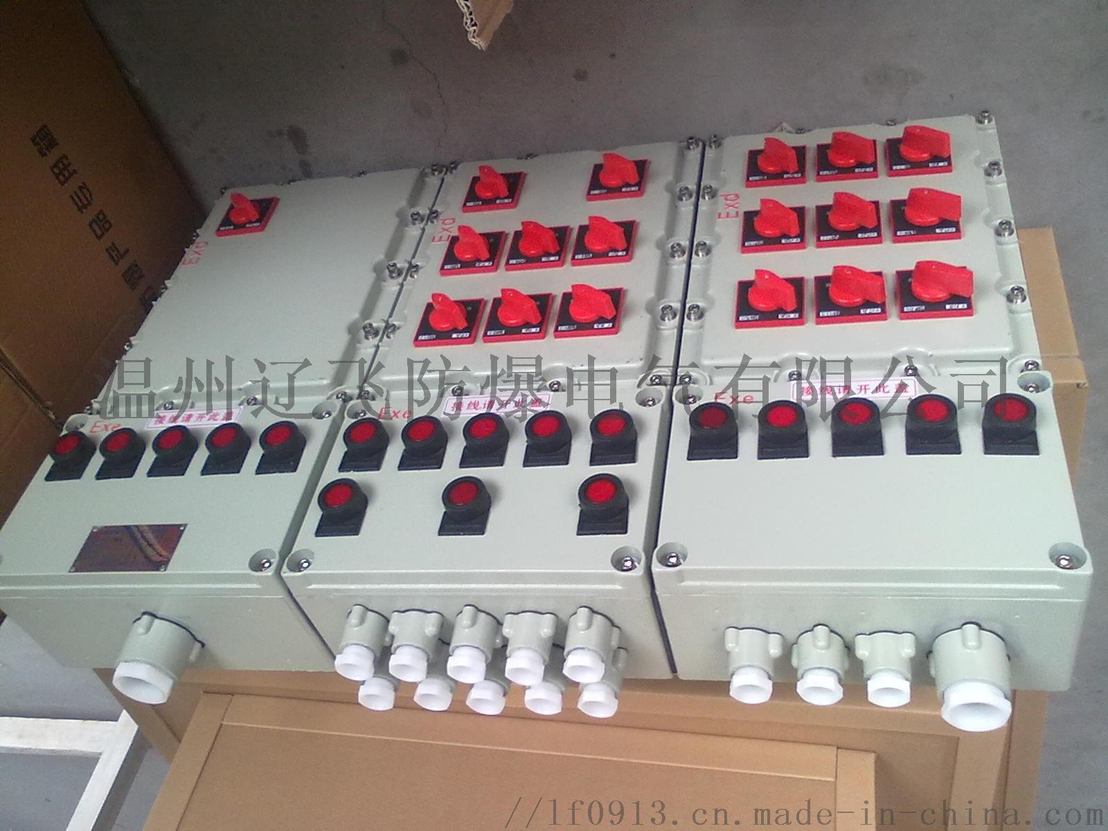 明装6回路带总开关防爆配电箱764454042
