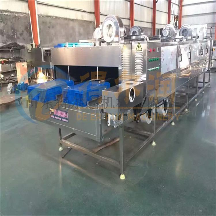 山東DER-5烘烤盤清洗機 自動羅盤烘烤盤清洗設備766624362